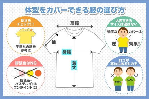 通販で失敗しないビッグサイズの洋服選び方